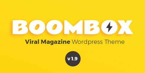 ThemeForest - BoomBox v1.9.5.3 - Viral Magazine WordPress Theme - 16596434