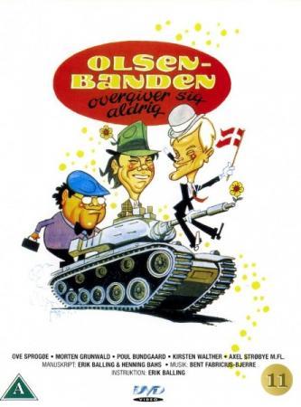 Операция начнется после полудня / Банда Ольсена никогда не сдается / Olsen-banden overgiver sig aldrig / The Olsen Gang never surrenders (1979) HDRip