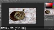 Предметная ретушь в фотошопе (2017) HDRIP