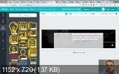 Дизайн соц.сетей с помощью сервиса Canva (2017) Видеокурс