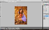 Сочный цвет осени. Обработка фотографий (2017)