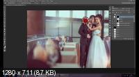 Новые приемы в обработке свадебного фото (2017)