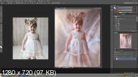 Маленькая Фея. Обработка в photoshop и lightroom (2017)