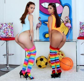 Gianna Dior, Charity Crawford (TWICE THE FUN WITH CHARITY AND GIANNA / 31.10.2018) 1080p