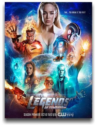 ������� ����������� ��� / DC's Legends of Tomorrow [�����: 4, �����: 1-8 (20)] (2018) WEBRip 720p | BaibaKo