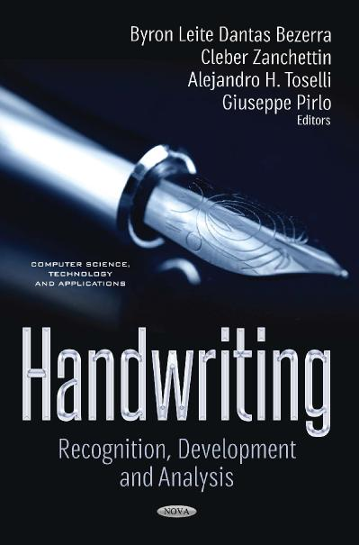 Handwriting Recognition, Development and Analysis