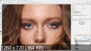 Быстрая ретушь женского портрета (2018) PCRec