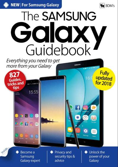 The Samsung Galaxy Guidebook 2018