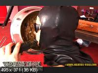 Hightide Scat: (Lady Caca, 1 male) - WRONG TIME, WRONG PLACE [SD] - Latex, Humiliation