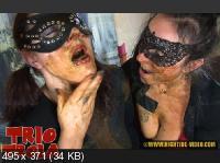 Hightide Scat: (Violet, Gina, Marlen) - TRIO TROIA [HD 720p] - Shitting, Masturbation, Lesbians