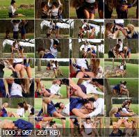 PissingInAction - Jenna Lovely, Klarisa, Adel Sunshine - Piss Captured! ... (HD/720p/736 MB)