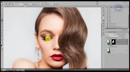 Наложение цвета в фотошопе с помощью стилей слоя (2018) PCRec