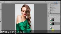 Наложение цвета в фотошопе с помощью стилей слоя (2018)