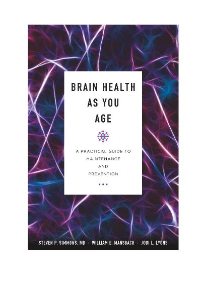 Brain Health as You Age A Practical Guide to Maintenance and Prevention