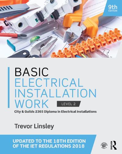 Basic Electrical Installation Work, 9th Edition