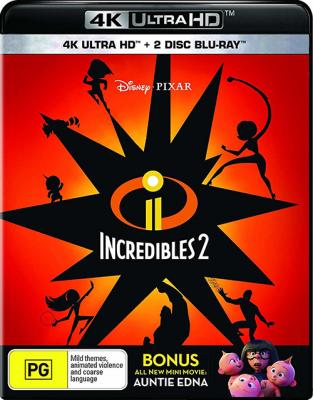 ������������ 2 / Incredibles 2 (2018) BDRemux 2160p  | HDR | iTunes