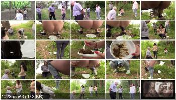 Stars Scat (MilanaSmelly) He wanted to escape! But could not [HD 720p] Femdom, Smearing, Outdoor